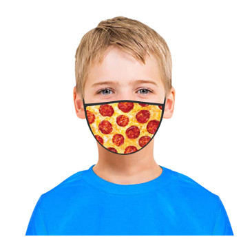 3PC Kids Printed Masks Washable And Reusable Masks For Protection For Adults Scarf Flag Bandana#3 1