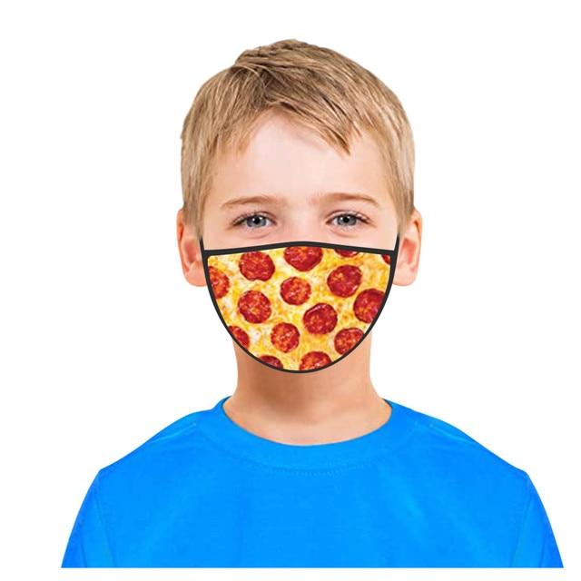 3PC Kids Printed Masks Washable And Reusable Masks For Protection For Adults Scarf Flag Bandana#3 1