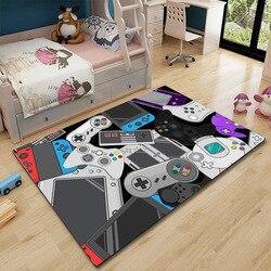 Tapis de sol Gamer contrôleur tapis antidérapant paillasson tapis de cuisine tapis d'escalier pour entrée enfant jouer tapis de prière tapis extérieur jeter