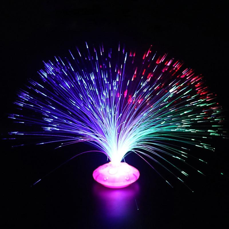 Nuevo juguete para niños que brilla en la oscuridad 1 Uds. Hilo de fibra óptica de Color juguetes brillantes luces LED flash estrellas brillan en la oscuridad juguetes para niños E 50 Uds módulo Led Pixel Cadena de luz impermeable 9mm DC5V IP68 Led puntos las letras de Canal Digital LED Luz de píxel RGB blanco JQ