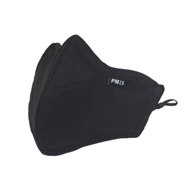 5pcs Cotton Mask Mouth Face Mask Anti PM2.5 Anti-Dust Masks with 10pcs Activated Carbon Filter Korean Mask Fabric Face Mask 1