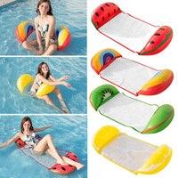 PVC Wasser Hängematte Liege Aufblasbare Schwimmdock Lounge Bett Für Schwimmen Schwimmen Matratze Meer Schwimmen Ring Pool Party Spielzeug