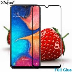 На Алиэкспресс купить стекло для смартфона 1pcs full glue screen protector for samsung galaxy a20e tempered glass jean2 full cover for samsung a20e 9h 2.5d premium film