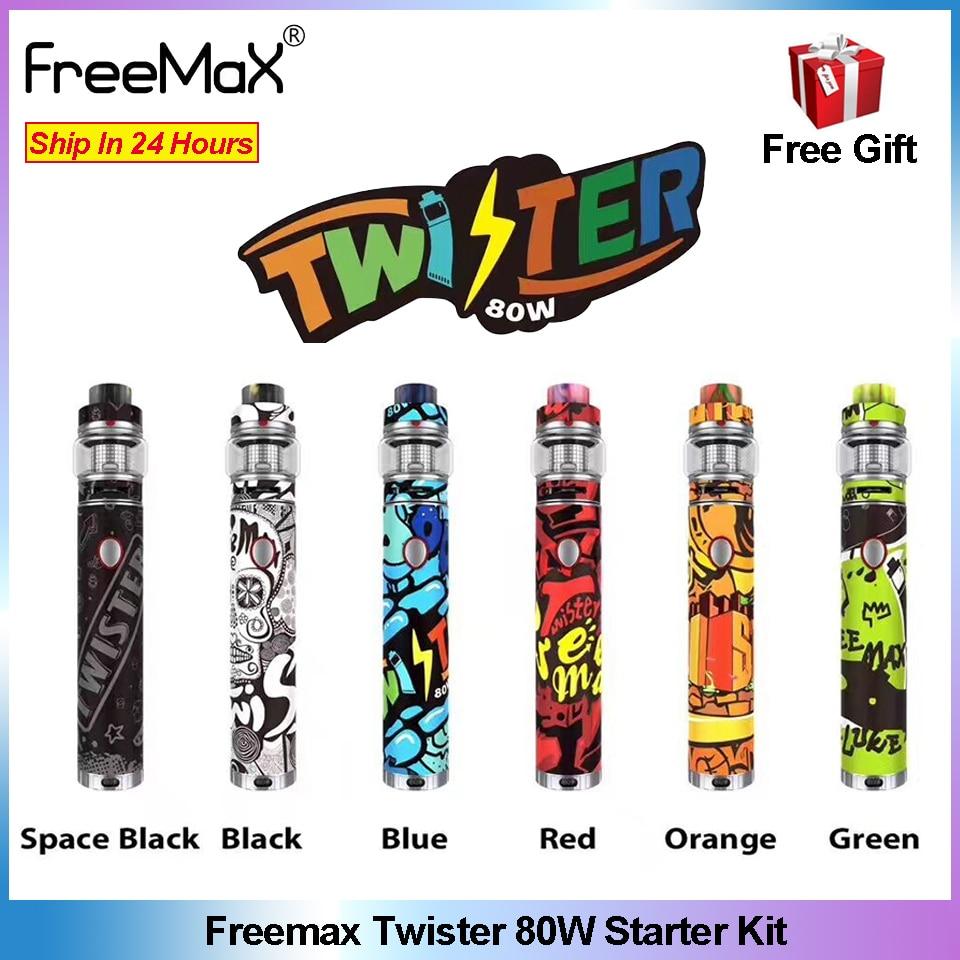 Electronic Cigarette Freemax Twister 80W Vape Pen Kit 2300mAh battery With Fireluke 2 Tank Mesh 5ML
