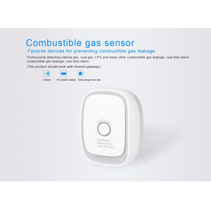 Image 5 - Haozee Wireless Zwave Combusitible Gas Leakage Detector Smart Home EU Version 868.42mhz Natural Gas Coal Gas Sensor