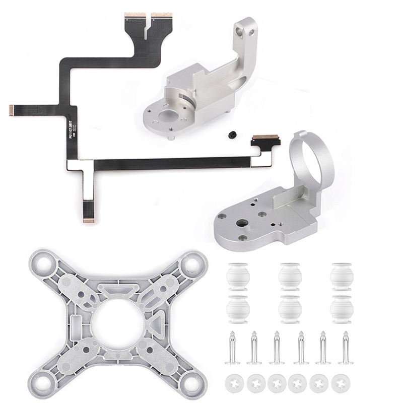 Repair Parts for DJI Phantom 3 Advanced Drone Yaw Arm Roll Bracket Flat Ribbon Flex Cable Gimbal Mount Motor Camera Accessory(China)