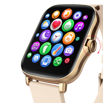 LEMFO Smart Watch Y20 2021 Men Women 1.69 inch Full Touch Screen Fitness Tracker IP67 Waterproof GTS 2 2e Smartwatch pk P8 Plus 4