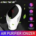 Onever 12-24V Air Purifier Frische Luft Anion Auto Luft Purifier Luft Reiniger besten für Auto Home Office geschenk Mit 5V3. 1A USB Ladegerät