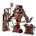 734 шт 10583 мини-фигурки набор совместим рассвет гладить Doom 70626, строительные блоки, игрушки для детей, блок Размеры