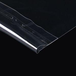 """Image 5 - 50pcs 12 """"PE ויניל שיא LP LD שיא פלסטיק שקיות אנטי סטטי שיא שרוולים חיצוני פנימי פלסטיק ברור כיסוי מיכל"""