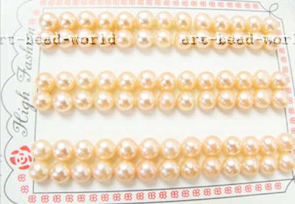 1018 + + + del commercio all'ingrosso 13 pair 6.5 millimetri rosa button coin d'acqua dolce orecchino di perla branelli allentati