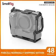 Клетка для камеры smallrig bmpcc 4k и 6k с аккумулятором прикрепленная