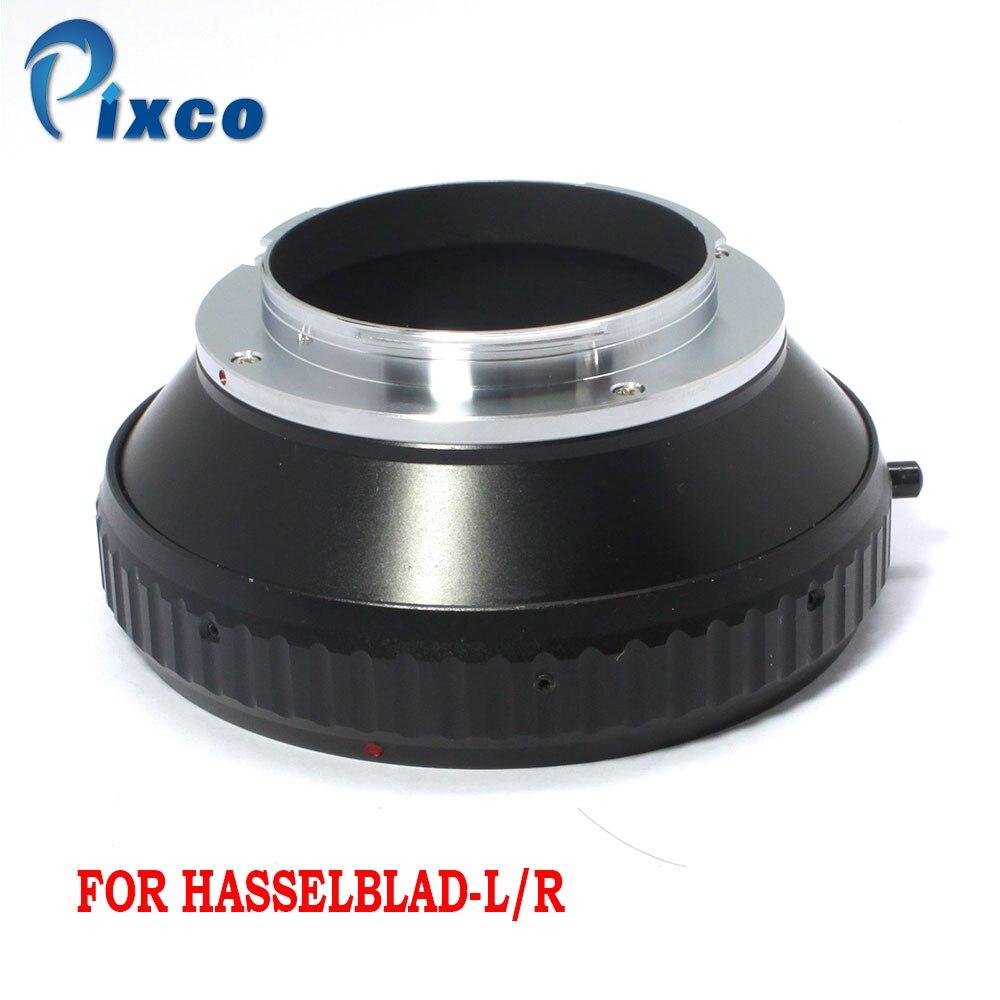Tüketici Elektroniği'ten Lens Adaptörü'de Pixco Için Hasselblad L/R Lens adaptörü Için Uygun Hasselblad Lens için Leica R R3 R4 R5 R6 R7 r8 R9 Adaptörü title=