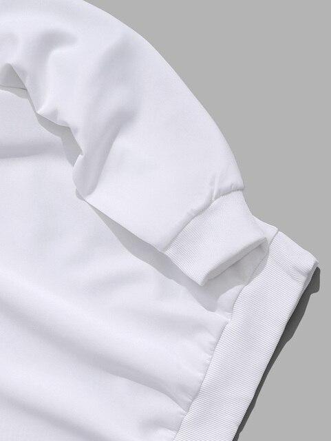 Купить мужская толстовка с капюшоном zaful повседневная толстовка принтом картинки цена