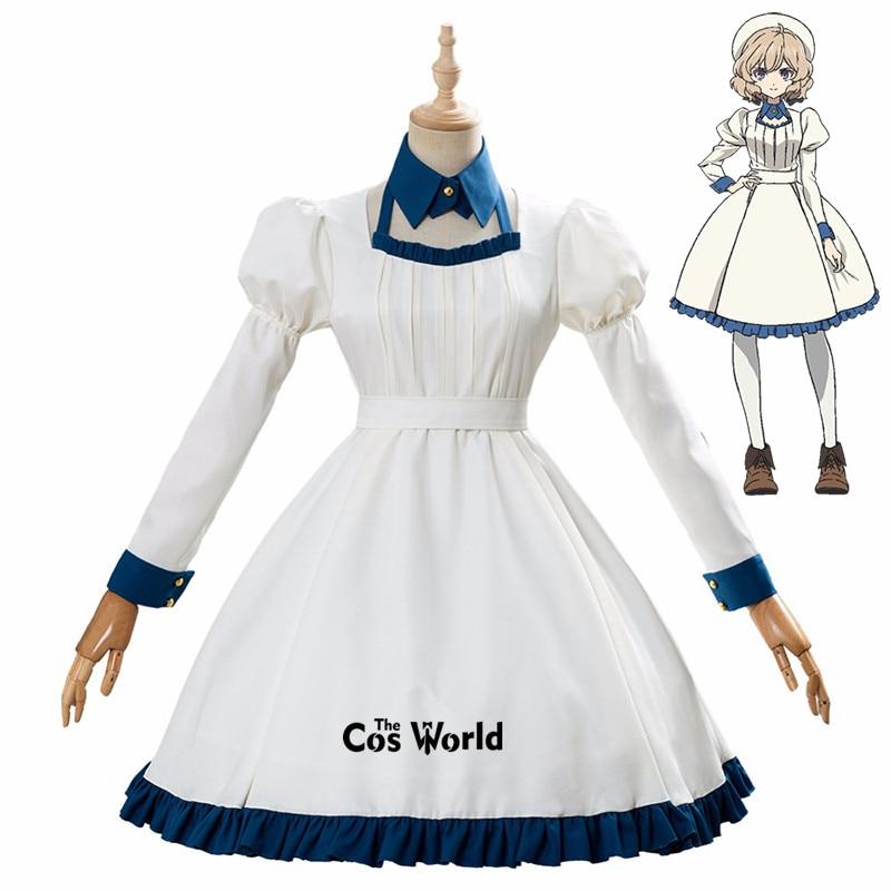 Kyokou Suiri (In/Spectre) Iwanaga Kotoko Lolita Dress Uniform Outfit Anime Cosplay Costumes