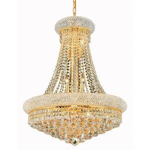 Image 1 - Phube oświetlenie imperium francuskie złoty kryształowy żyrandol chromowane żyrandole oświetlenie nowoczesne żyrandole światło + darmowa dostawa!