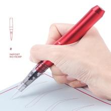 لوازم الوشم المهنية ملحقات تجميل دائم سبائك الألومنيوم الكهربائية الرقمية Microblading آلة لشفة الحاجب