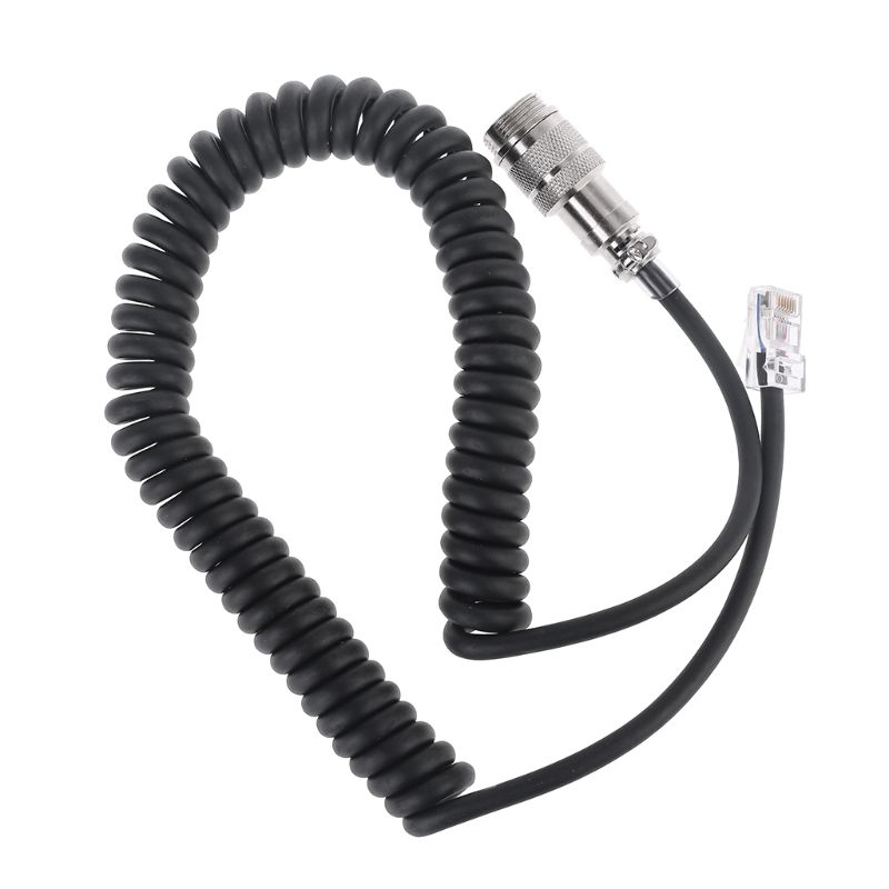 8 Pin To RJ-45 Modular Plug Mic Cable Adapter For Yaesu Microphone MD-200 MD-100 M-1 M-100 FT-450 FT-900 FT-991