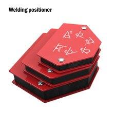 4 pz/set saldatura magnetica supporti angolo di saldatura freccia posizionatore apparecchio strumenti di localizzazione ausiliaria in Ferrite