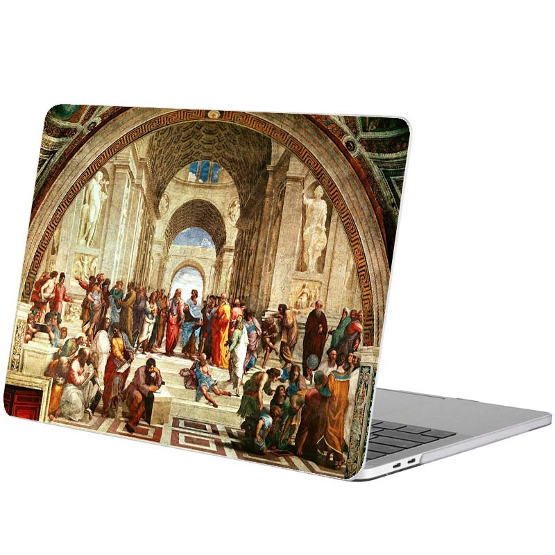 The School of Athens Oil Painting Laptop Sticker for Macbook Pro 16