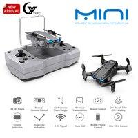 2021 nuovo KY906 Mini Drone Dual 4K HD Camera 2.4G Wifi Fpv portatile pieghevole Quadcopter ritorno a una chiave RC elicottero giocattoli per bambini