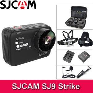 SJCAM SJ9 huelga Cámara de Acción WiFi 4K 60fps Ambarella H22 2,33 pantalla DV deportes 10m cuerpo impermeable Cam giroscopio/EIS al aire libre SJ Cam