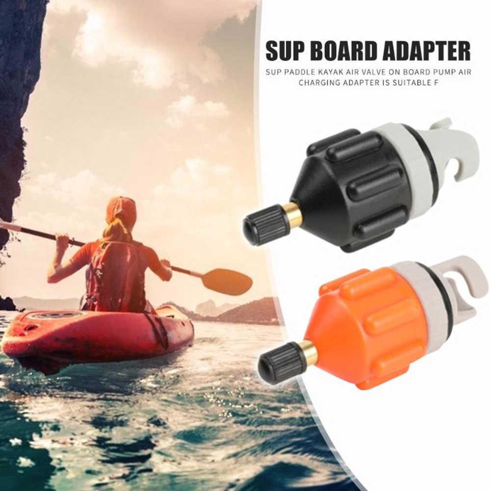 Inflatable Boat Pump Hose Adapter Air Valve Adaptor Paddle Board for Canoe Kayak