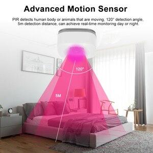 Image 4 - Capteur de mouvement PIR, détecteur infrarouge sans fil, alarme de sécurité anti cambriolage, contrôle avec application Tuya, Compatible avec IFTTT pour maison connectée