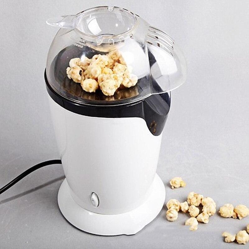 1200W Electric Corn Popcorn Maker Household Automatic Mini Hot Air Oil-free Popcorn Making Machine DIY Corn Popper Children Gift