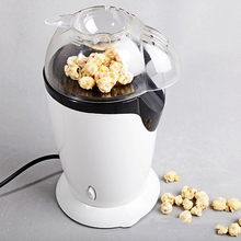 цена на 1200W Electric Corn Popcorn Maker Household Automatic Mini Hot Air Oil-free Popcorn Making Machine DIY Corn Popper Children Gift