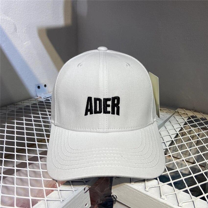 ADER ERROR Baseball Caps Men Women ADER Embroidered Logo Hats Inside Tag BLue Mark Label Adererror Cap