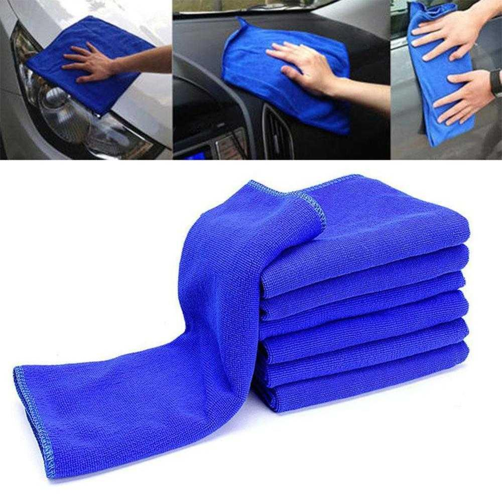 Car Wash Towel Microfiber Nano Towel Cleaning Car Towel Car Supplies Supermarket Cleaning Towel 40x40
