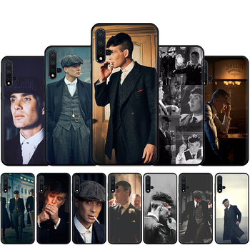 Thomas Shelby Peaky Blinders Silicone Phone Case For Huawei Nova Lite 2 Lite 2i 3 3i 4 4E 5i 5T 7 7SE Back Cover image