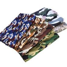 Tissus de Camouflage en Polyester, étoffe en peau de pêche, pour couture de pantalons pour hommes, PJ28