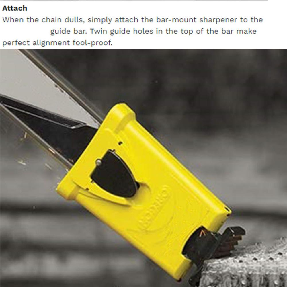 Chainsaw Teeth Sharpener Sharpens Chainsaw Saw Chain Fast Sharpening Stone Grinder Tools System Abrasive Tools