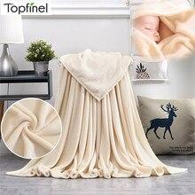 Nordique Super doux couverture Shaggy en peluche confortable avec des couvertures moelleuses bébé lit tapis canapé couverture cadeau de noël corail gris