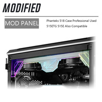 Phanteks 518 ケーストップ修正されたアクリルパネル 5v DRGB ROG 装飾カスタムサポート同期メガバイト -
