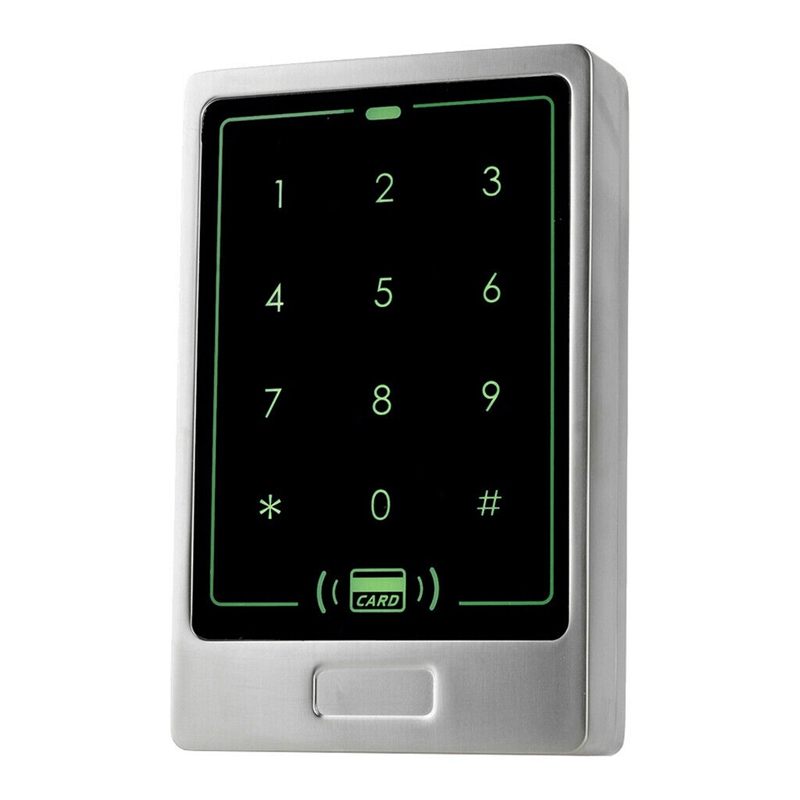 125Khz RFID Door Access Control Metal Contact Panel Keypad Card Reader 8000 Users for Lock Office Home Secyrity System|  - title=
