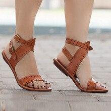 Summer Roman Sandals Flat Casual Summer Sandals Woman