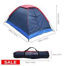 Lixada походная палатка для путешествий на 2 человека, палатка для зимней рыбалки, палатки для кемпинга, походов с сумкой для переноски 200x140x110 см