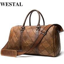WESTAL Men's Luggage Travel Bags Genuine