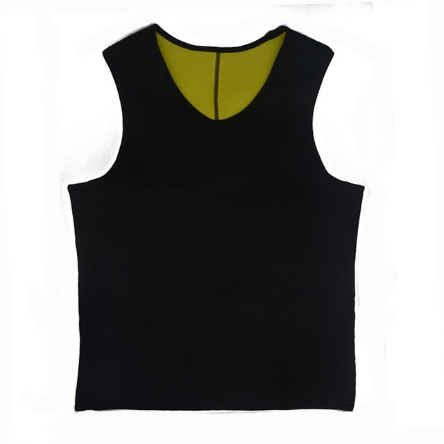 Sweat Sauna Body Shaper Men Slimming Vest Thermo Neoprene Trainer Sliming Waist Belt Durable And Comfortable Weight Loss Vest 1