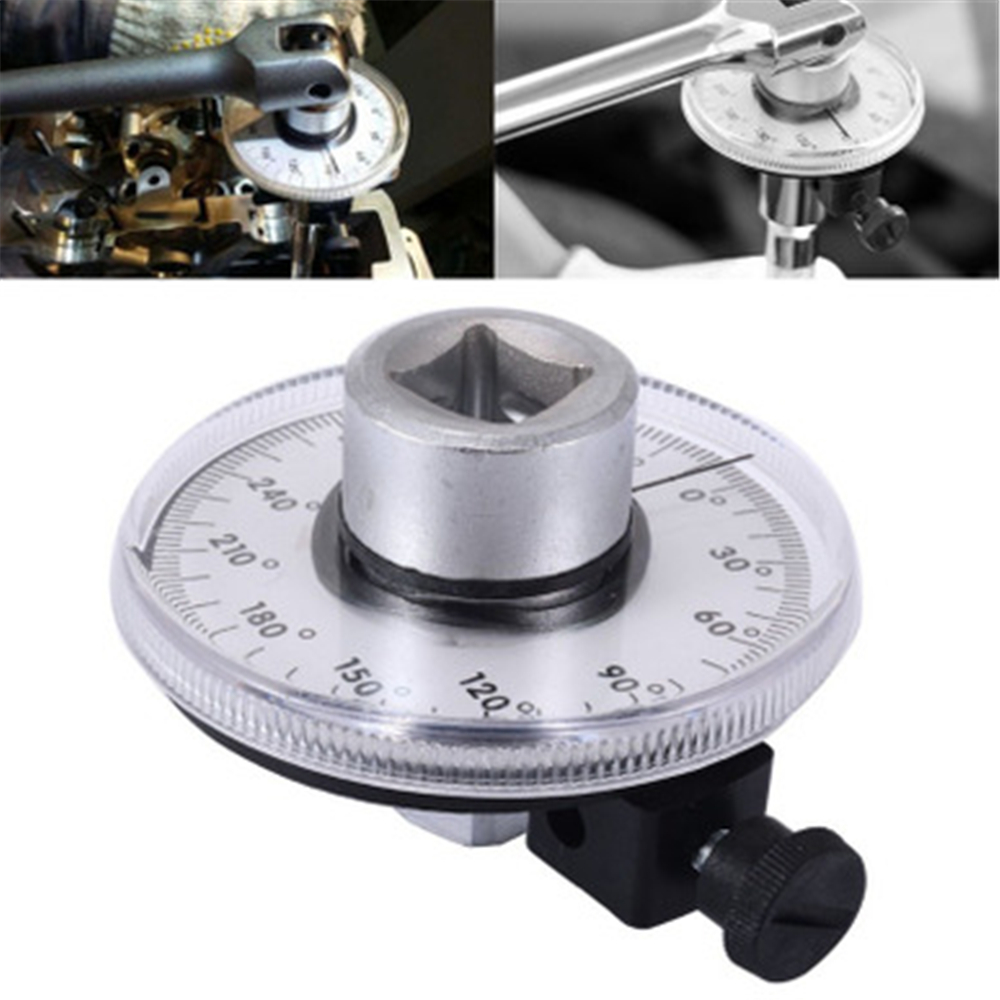 """Car 1/2"""" Adjustable Drive Angle Torque Gauge Auto Test Diagnotic Meter Garage Tools For BMW Mercedes VW Toyota Ford AT2136"""