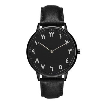 Casual Designer Watches For Women Luxury Brand Waterproof Women's Watches Leather Bracelet Watch Ladies Black Silver Clock image