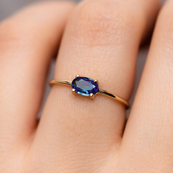 Wedding Engagement Rings For Women Jewellry For Female Gold Color Ring With Stone Women' Ring Dating Jewelry Wholesale R865 1