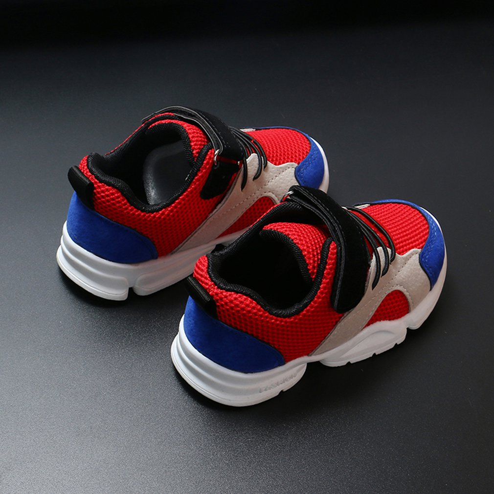 2018 Spring/Autumn Children's Shoes Boys Sneakers Fashion Girls Running Shoes Casual Shoes Breathable Kids Sports Casual Shoes