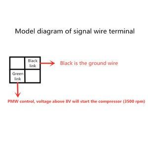 Image 3 - Автомобильный Электрический воздушный компрессор, электрический компрессор постоянного тока 12 В 24 в 48 в 72 в 96 в 144 в 320 в 530 в