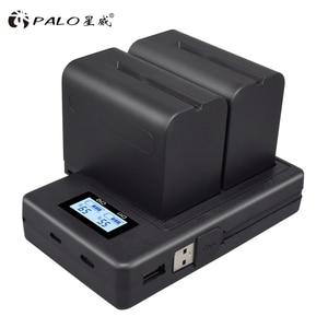 Image 5 - Комплект двухканального зарядного устройства PALO для аккумуляторов SONY, FM50, FM500H, F970, F960, F770, F750, F570, FX1000E, для батарей SONY, F970, F960, F770, F750, F570, FX1000E, для батарей с разъемами на 5/4/4/10/10/10/10/10/10/10/10/10/10/10/10