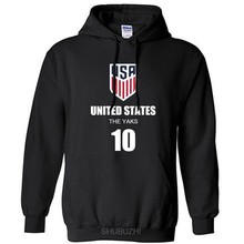 USA nation team United States of America hoodies men sweatshirt sweat new streetwear American jerseyes tracksuit flag US(China)