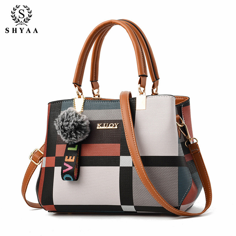 SHYAA Women's Bag 2019 New Cool Fashion Big Bag Korean Version Of The Shoulder Messenger Bag Spring Ladies Handbag